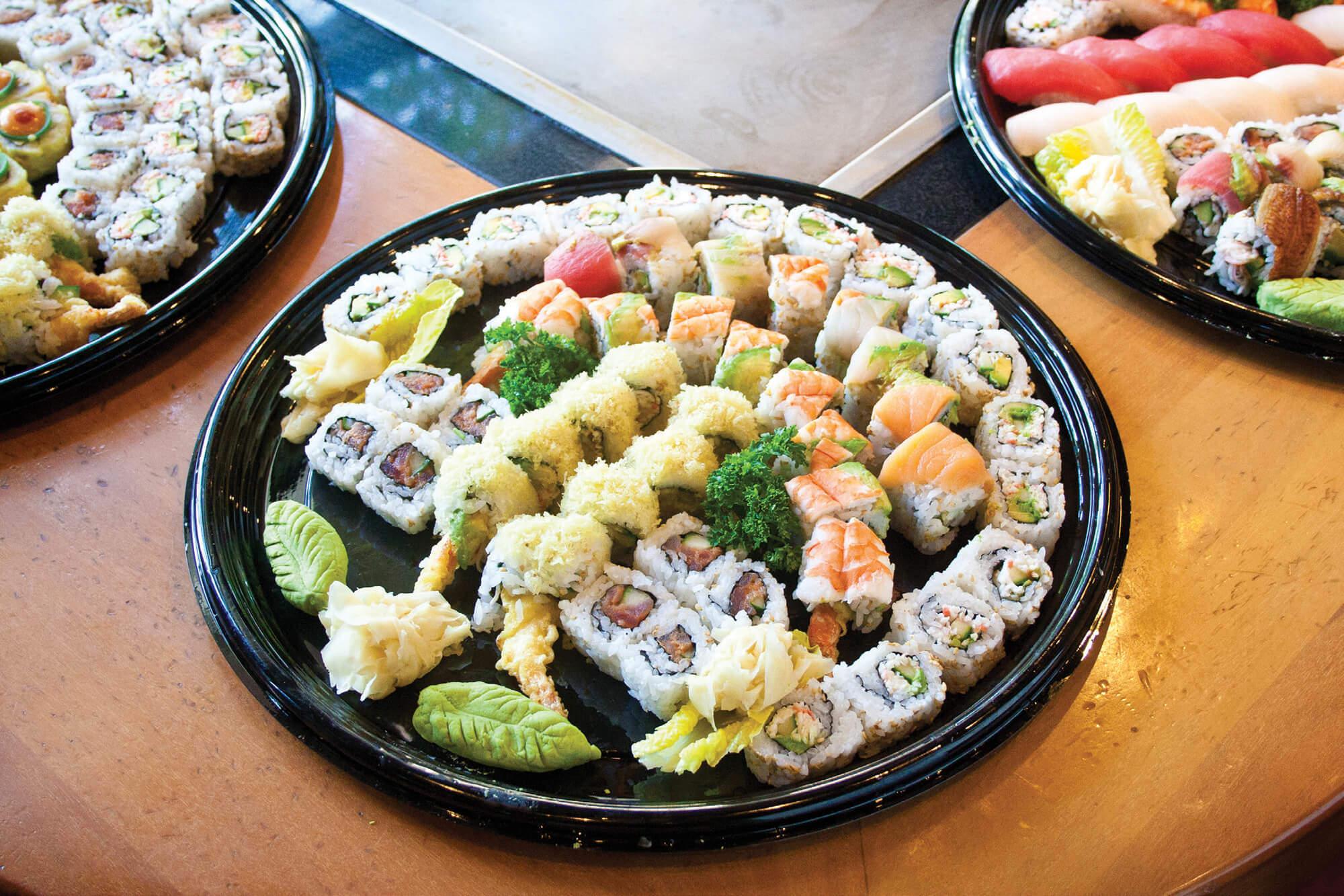 sushi party platters party plater menu benihana