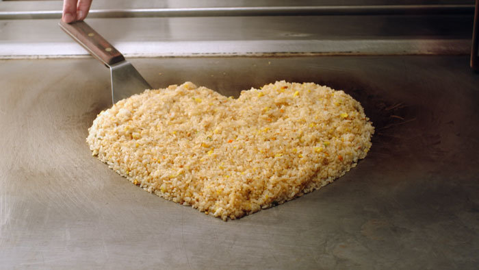 Heart-Shaped Rice